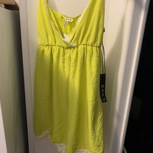 Urban Outfitters Mini Neon Dress